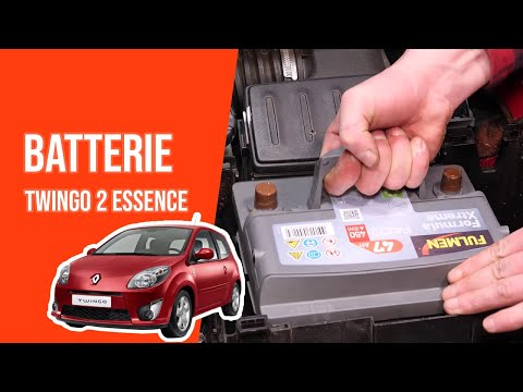 tuto renault twingo 2 essence changer la batterie. Black Bedroom Furniture Sets. Home Design Ideas