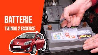 Changer la Batterie TWINGO 2 1.2 🔋