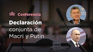 "Putin le aseguró a Macri que ""Argentina sigue siendo un socio muy importante para Rusia en América Latina"""