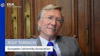 EUA President Rolf Tarrach introduces the European University Association thumbnail