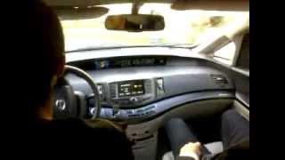 В салоне электромобиля BYD E6