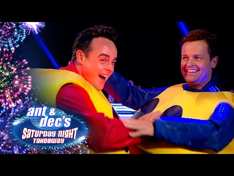 Ant V Dec: Life Size Pacman Game! - Saturday Night Takeaway