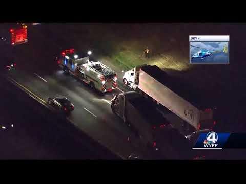 Interstate 85 in Spartanburg County shut down after fatal crash