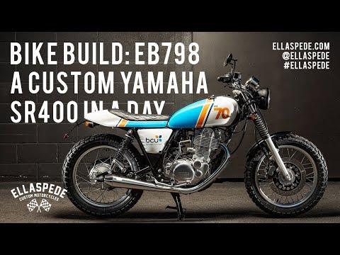 Bike Build: A Custom Yamaha SR400 In A Day