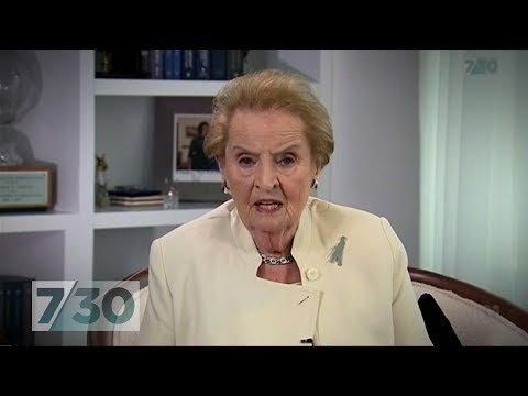 Madeleine Albright: Trump 'least Democratic' President In US Modern History