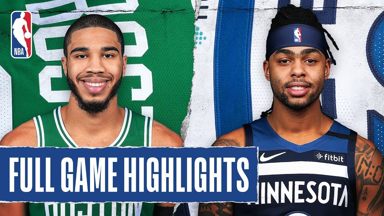 Boston Celtics vs. Minnesota Timberwolves: Jayson Tatum's ...