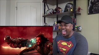 JUSTICE LEAGUE - Official Heroes Trailer - REACTION!!!