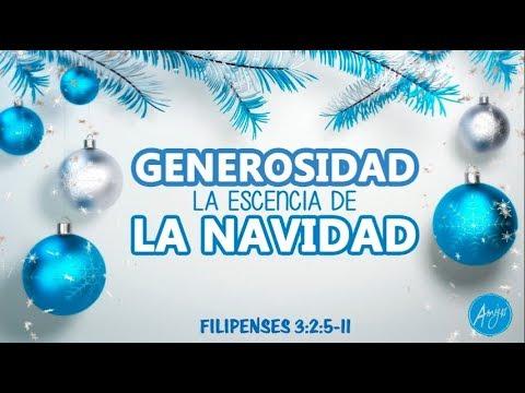 084  GENEROSIDAD, LA ESENCIA DE LA NAVIDAD / OMAR HERNANDEZ