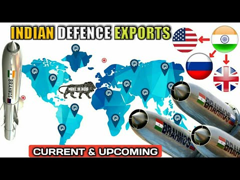 Defence Weapons & Equipments India Exports To Other Countrie