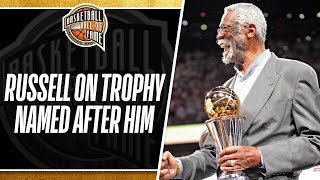 Bill Russell On Finals Trophy Being Named After Him