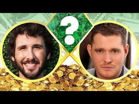 WHO'S RICHER? - Josh Groban or Michael Buble? - Net Worth Revealed! (2017)