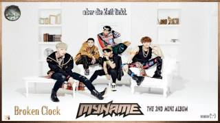 MYNAME (마이네임) - Broken Clock (고장난 시계) k-pop [german Sub] 2nd Mini Album