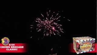 G-151 Crown Brocade Classic - Phantom Fireworks