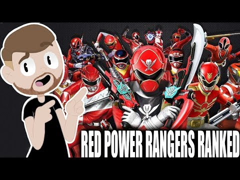 All 23 Red Power Rangers Ranked Worst to Best