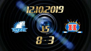 12.10.2019 YJK vs Hokki White (8-3)