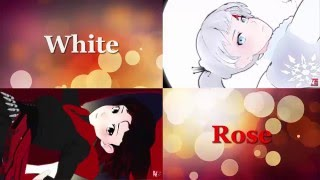if i had you white rose and bumblebee rwby amv yuri