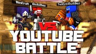 Episches YouTuber Battle! - Minecraft Gomme PvP Ep. 02 | VeniCraft