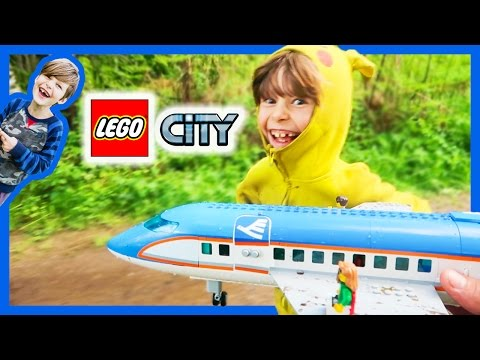 Title: Lego City Videos For Kids - Plane Race!