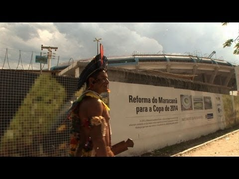 Brazil's native cultures threatened by World Cup preparations