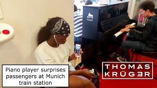 WOW! Amazing Piano Player surprises...