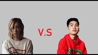 TheGabbieShow vs Ricegum (with Healthbars)