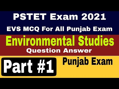 PSTET Important questions 2018 || Basic Environment and Science questions for all exams