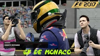 F1 2017 PC GAME - GP DE MONACO - CORRIDA - #23 - 720p 60fps