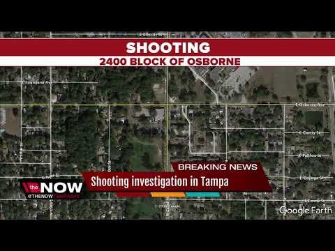 Tampa Police investigate shooting on Osborne