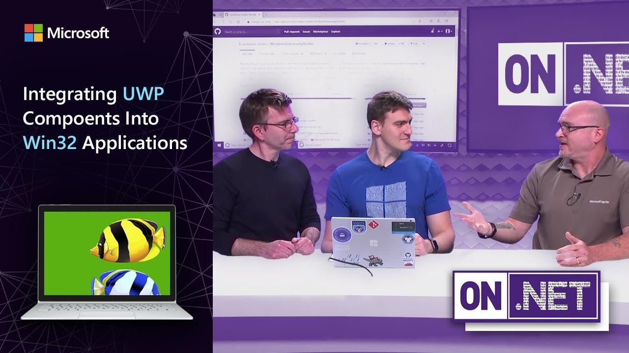 On .NET: UWP-Komponenten in Win32-Anwendungen integrieren