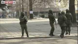 Konflikt Ukraina Rosja 6000 żołnierzy wysłanych na Krym