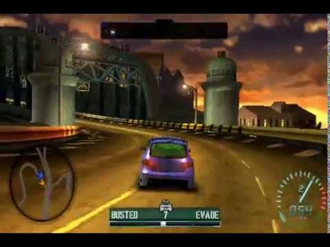 Need for Speed Carbon: Own The City (PSP) - Pursuit Gameplay