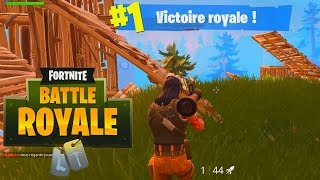 FORTNITE BATTLE ROYALE (FR) - 02 - Un TOP 1 et puis c'est tout ! (Ft. EAGLES)