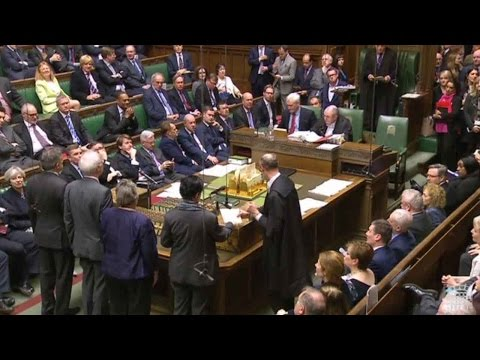 UK government wins parliament's approval for Article 50 legislation