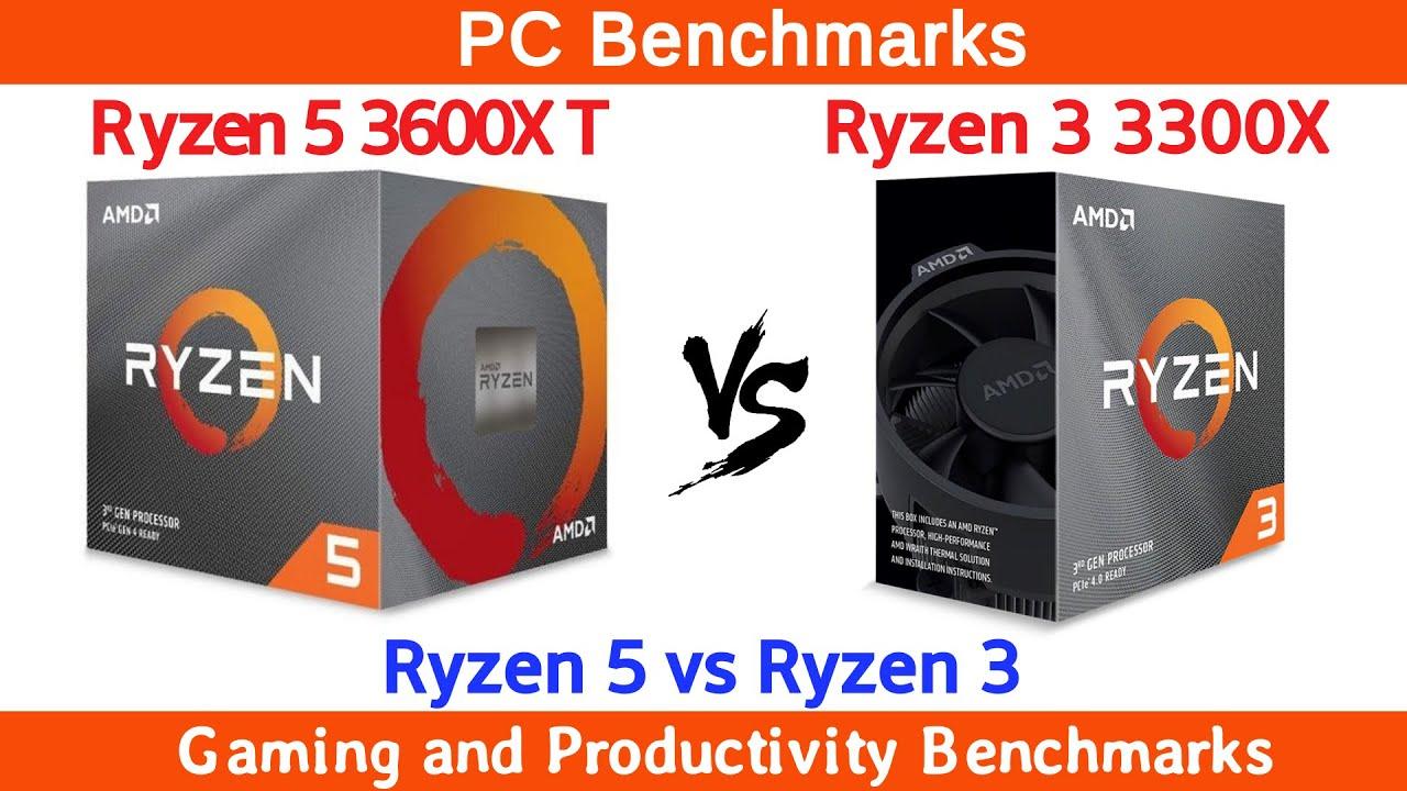 Ryzen 5 3600XT vs Ryzen 3 3300X Benchmarks