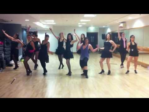 Cabaret Dance choreography week 9