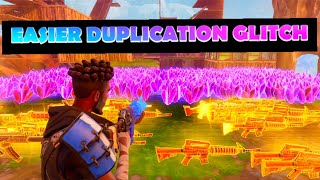 *EASIER* INSANE JULY DUPLICATION GLITCH FORTNITE SAVE THE WORLD