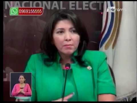 Nubia Villacís es la primera mujer que preside el CNE