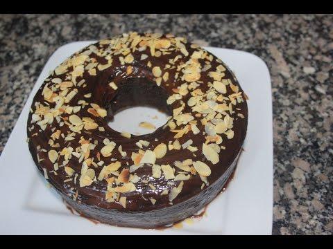كيكة سهلة بالشكلاطة  cake au chocolat