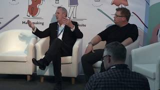 Giant iTab at Event Tech Live 2018 #ETL18 : New and emerging trends for Tech at Conferences & Events