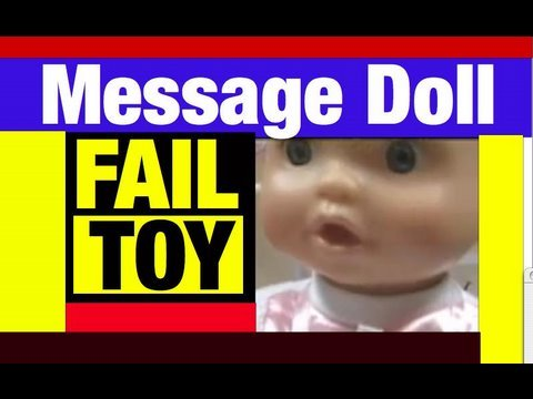 Controversial Doll  Allegedly Says