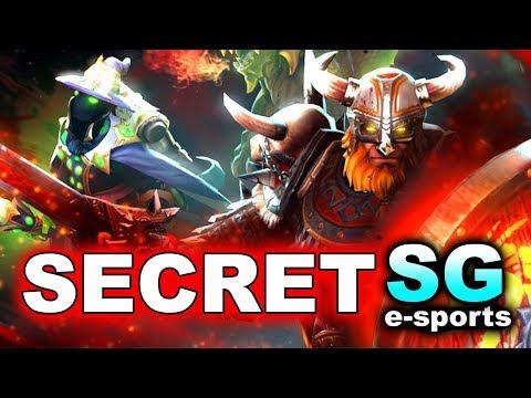SECRET vs SG + KEEN - 60 KILLS in 30 MIN! - GESC THAILAND MINOR DOTA 2
