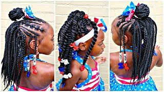 Crochet Hairstyles Installed Two Different Ways | Children's Natural Hair Care
