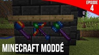 Les jolis outils ! | Minecraft Moddé S2 | Episode 04