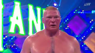 WrestleMania 34 | Brock Lesnar vs Roman Reigns  YouTube