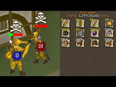 F2P PvP Worlds Made Me RICH! (OSRS)