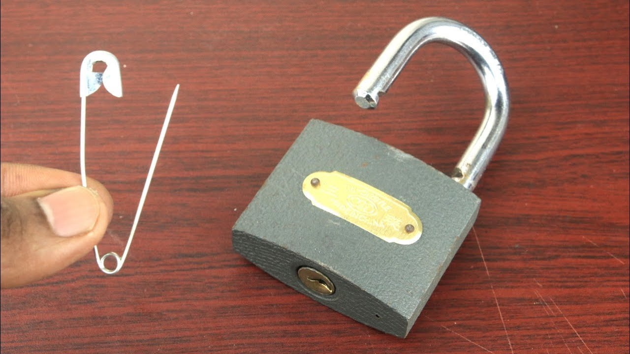 How to Open a Lock without key Easy - 4 Ways to Open a Lock - Amazing life hacks with Locks