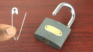 How to Open a L๐ck without key Easy - 4 Ways to Open a Lock - Amazing life hacks with Locks 🔴 NEW