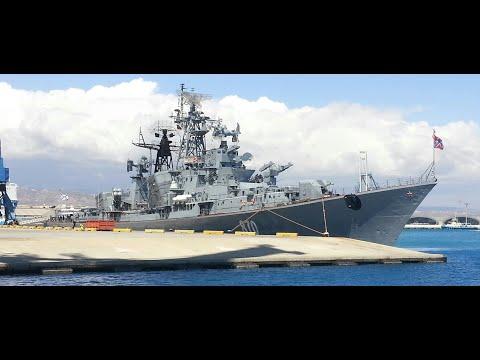 Russian Navy - Kashin-class destroyer- Сметливый 810