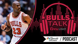Bulls' Scott Williams on The Last Dance and Michael Jordan   Bulls Talk Podcast   NBC Sports Chicago