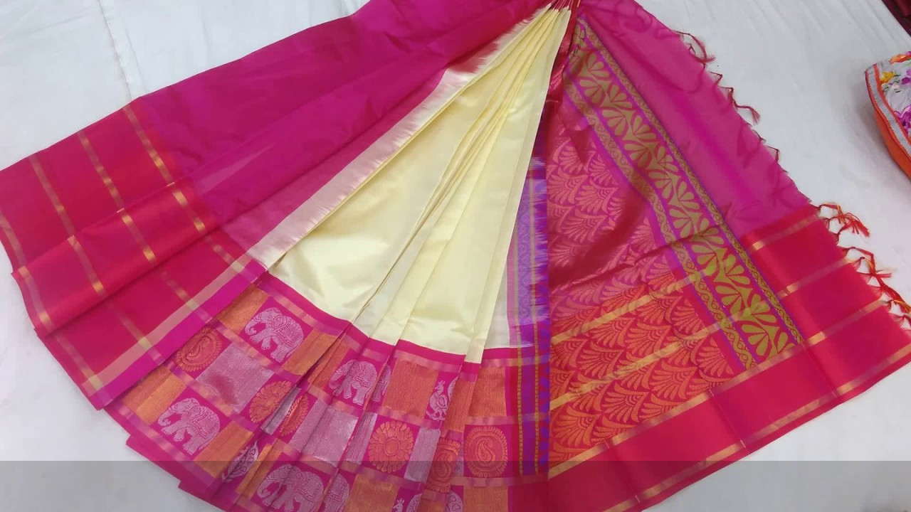 eef7b5ae2b Latest Kuppadam Pattu Sarees | Vigneshwara Silks | Episode 15 - YouTube